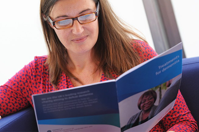 Ordering information about dementia