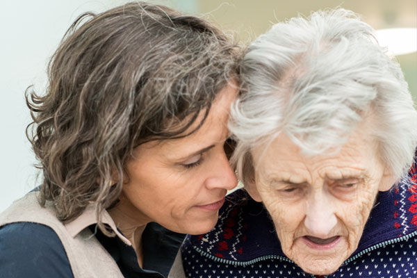 women and dementia