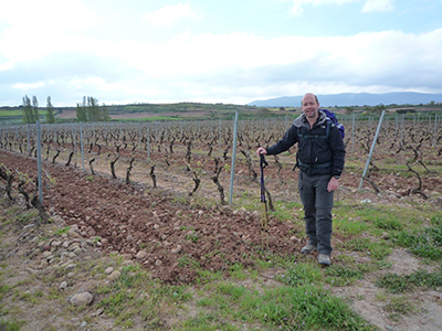 """""""One of my favourite hiking memories is my 800km walk across northern Spain from the Pyrenees to Santiago de'Compostella."""" Hugh, New Business Team"""