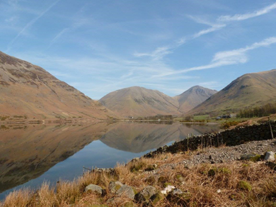 """""""Race the Tide is going to be a good excuse to go to the Lake District to train. I have some great hiking memories there. This is Wasdale lake near Scafell Pike"""" Kirsty, Media team"""