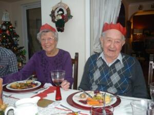 Betty and Derek Hill