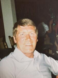 Wayne's dad Tony Seaby