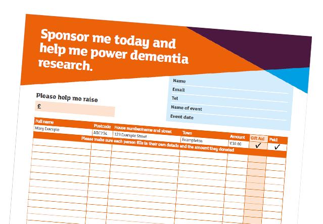 Download a sponsorship form – Sponsorship Form
