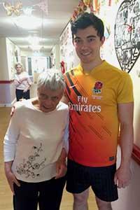 Sean and his nanna