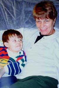 Sean McGregor and his Nanna