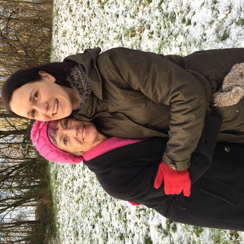 Elianne Hawley and mum Diane Byrne