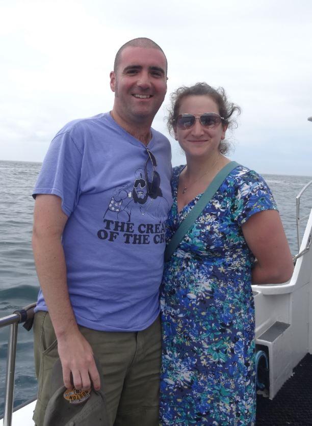 James Warren and his wife Ellie