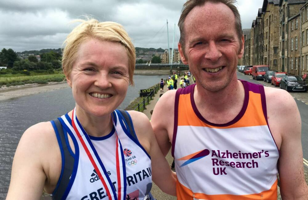Steve Dodsworth And Wife Linda Training By Doing The Lancaster Riverside 10 Mile Race 1000x650
