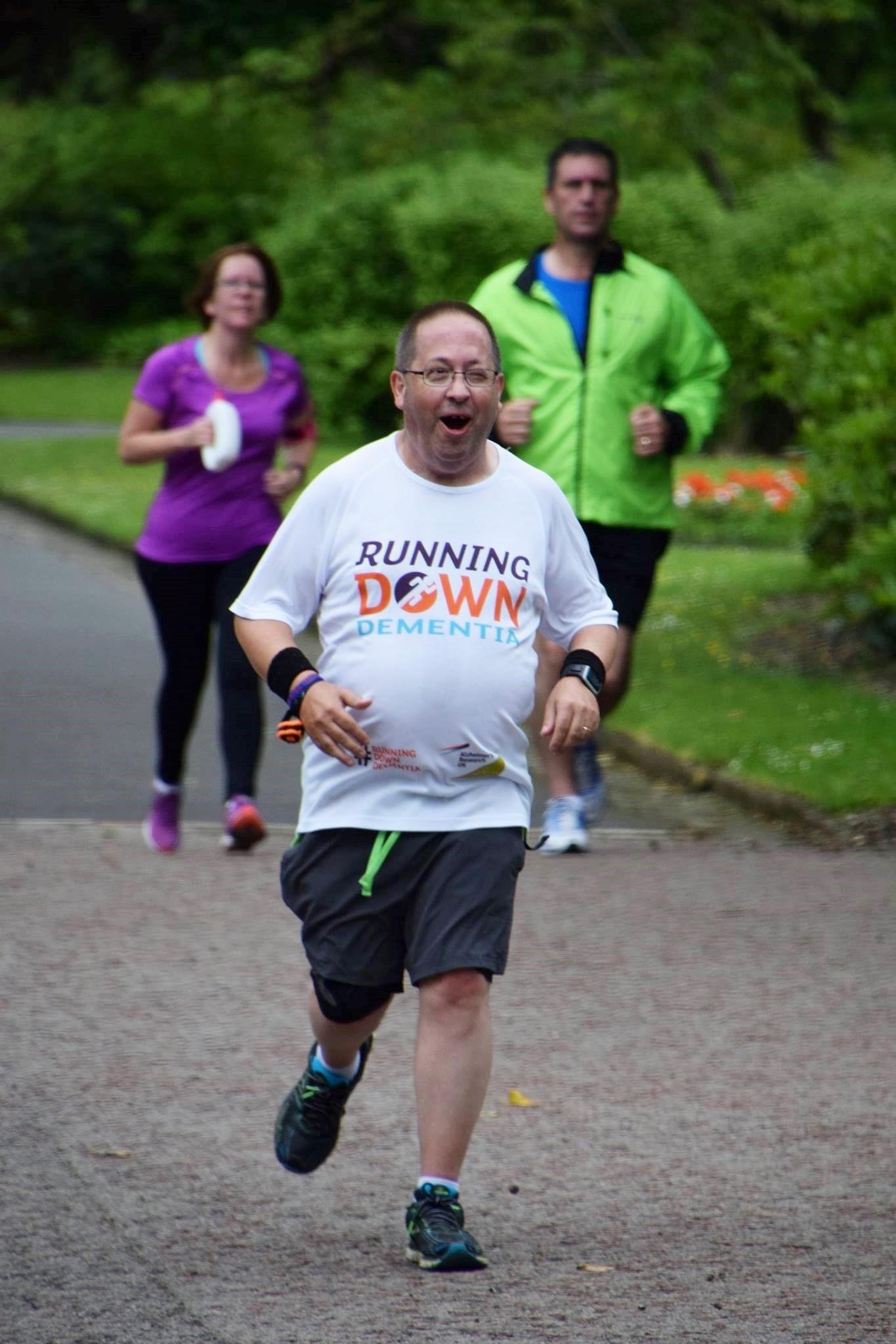 Richard Judd running down dementia