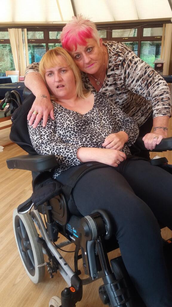 Carla and Rita in care home2