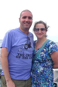 James and Ellie Warren