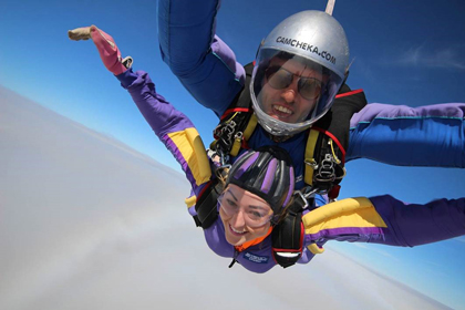 Skydive for Alzheimer's Research UK