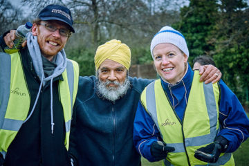 Alzheimer's Research UK staff #loveparkrun