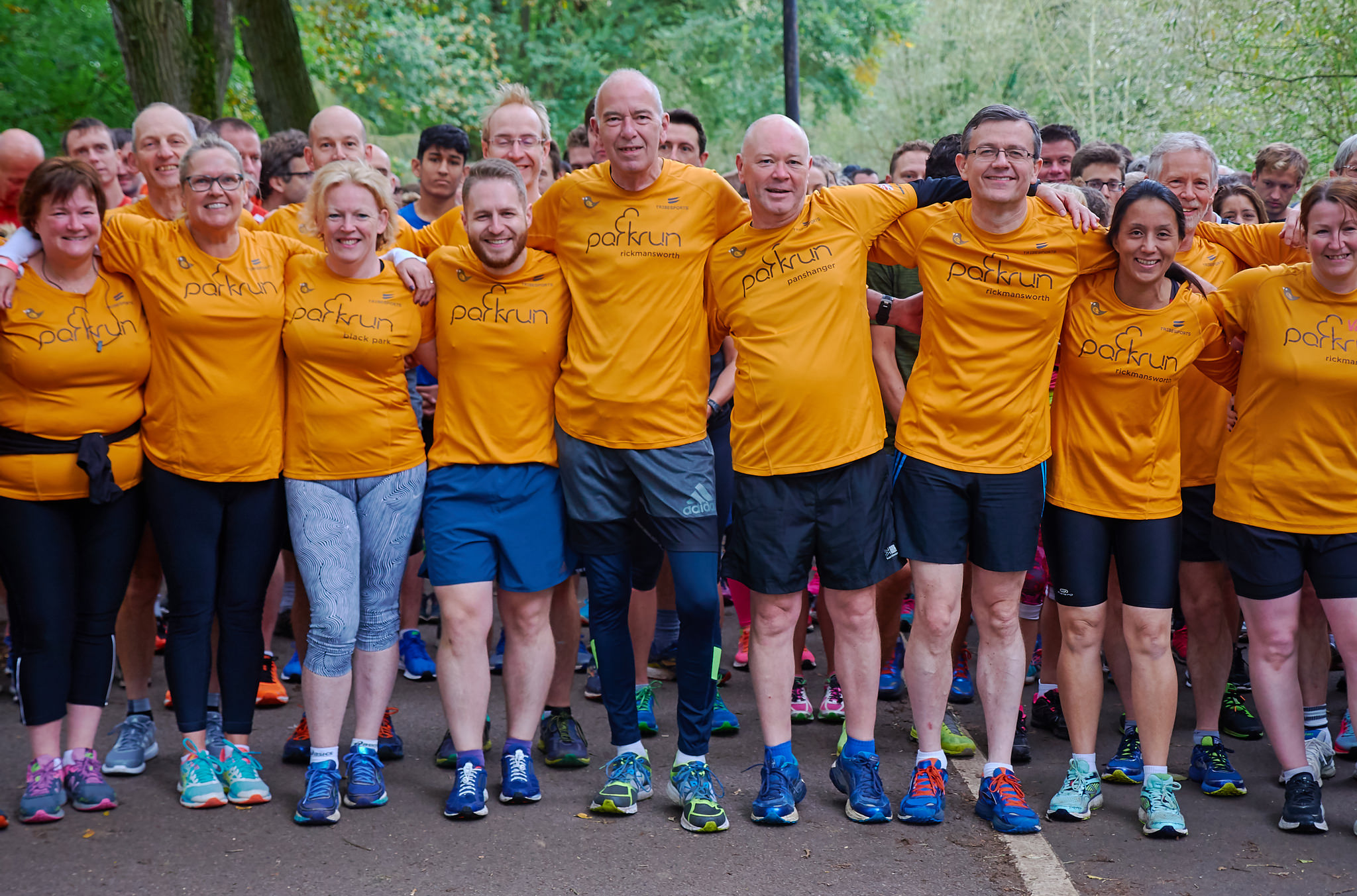 #TeamARUKparkrun supporters