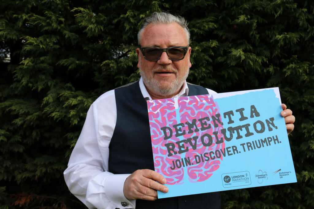 Ray Winstone supporting the Dementia Revolution