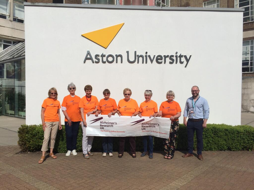 ARUK Shropshire lab tour with Dr Eric Hill