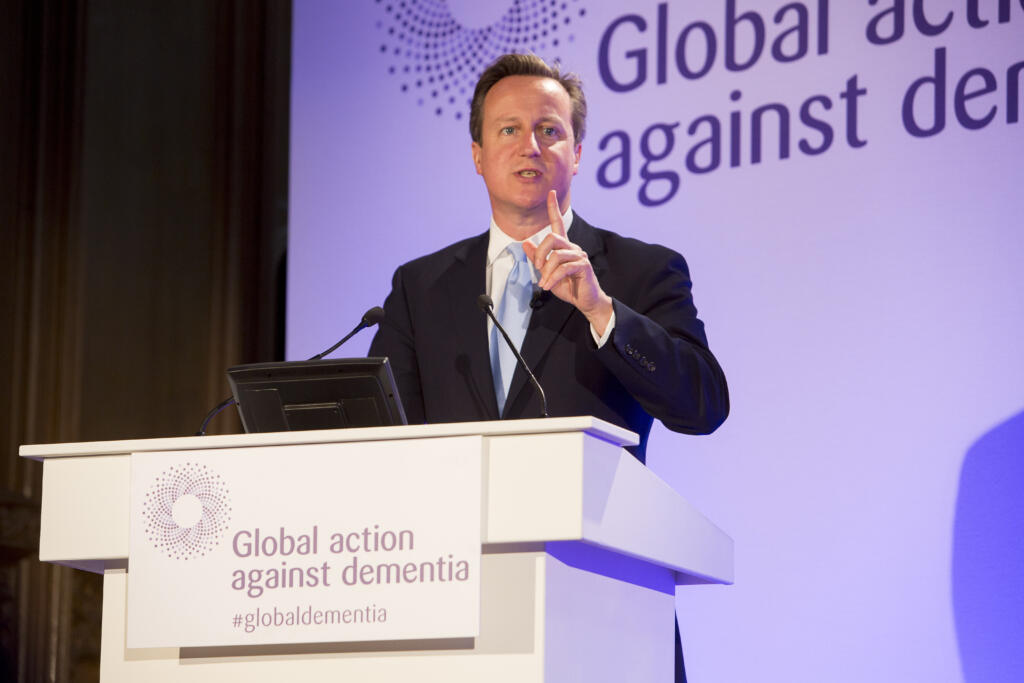 Prime Minister welcomes research goal at G8 event