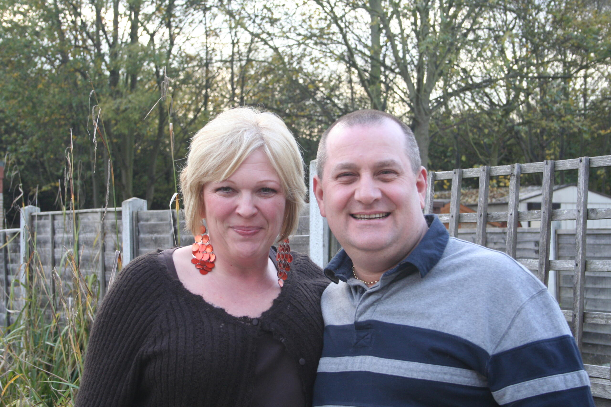 Vicky Huntley and Martin Taylor