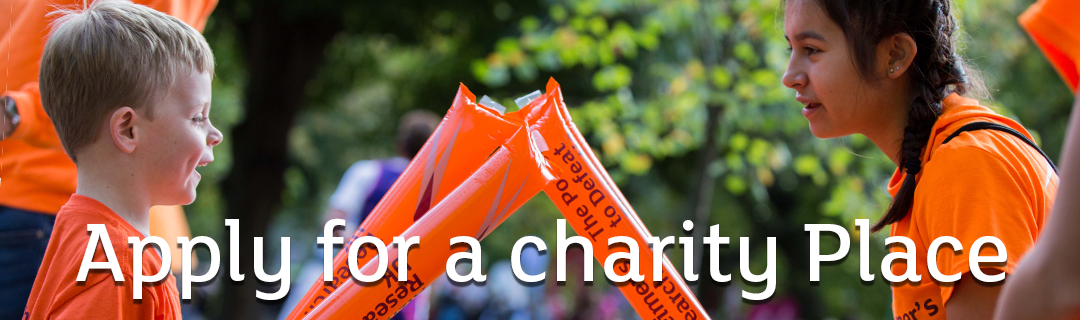 Apply for a #TeamARUK charity place, Alzheimer's Research UK
