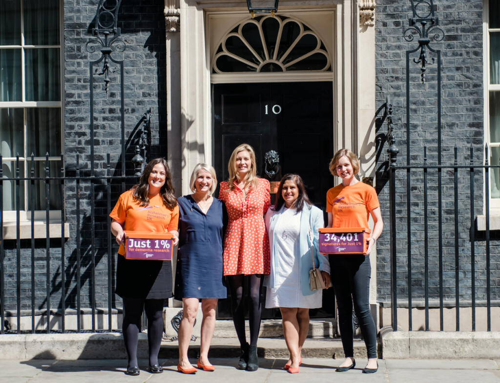 Rachel Riley takes 'Just 1%' campaign to Number 10