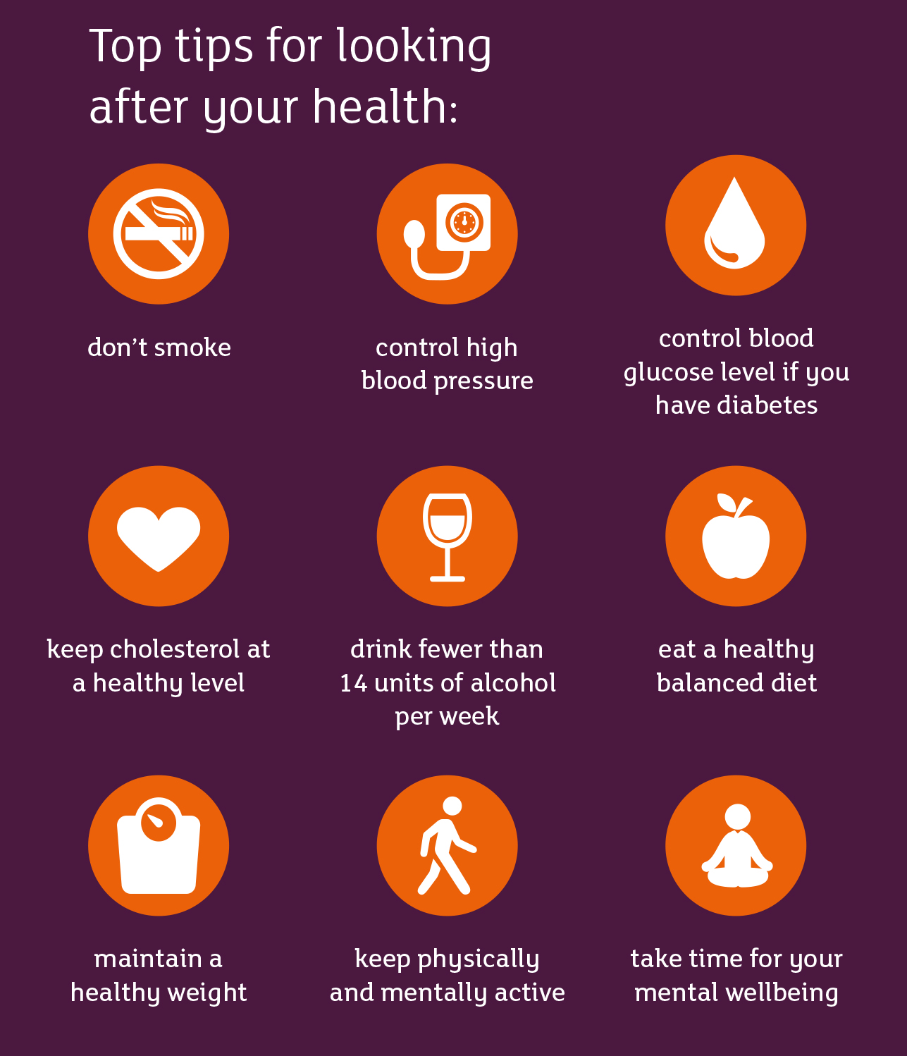 Top Tips For Looking After Your Health