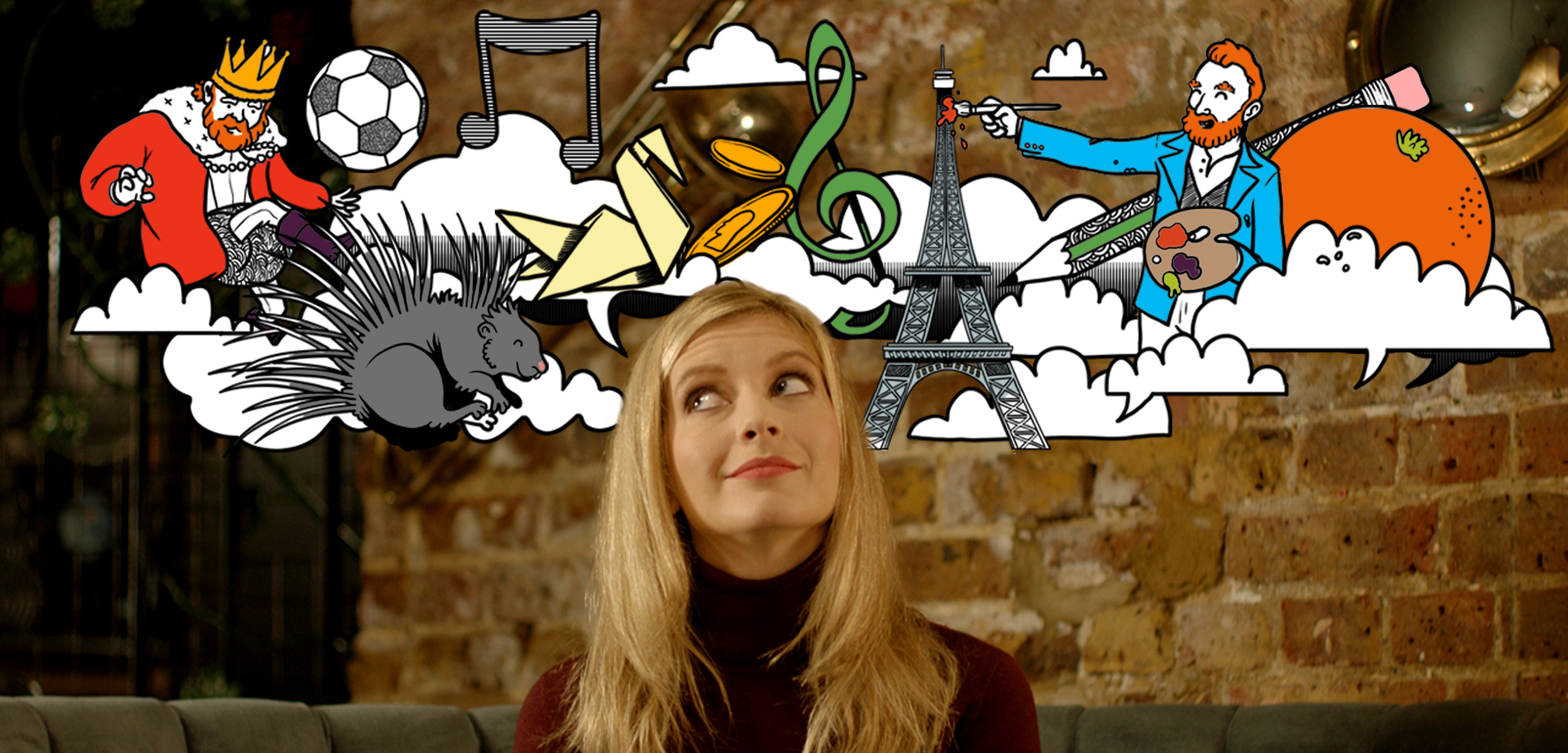page banner with rachel riley