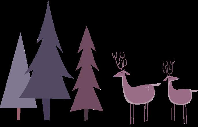 reindeer-trees
