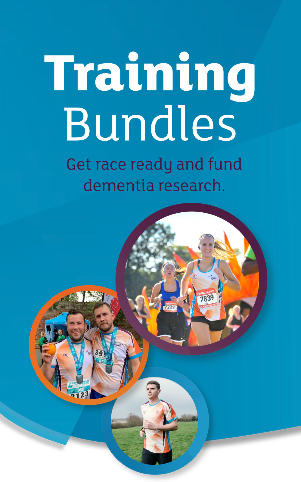 Training bundles, get race ready and fund dementia research