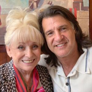 Scott Mitchell and Dame Barbara Windsor