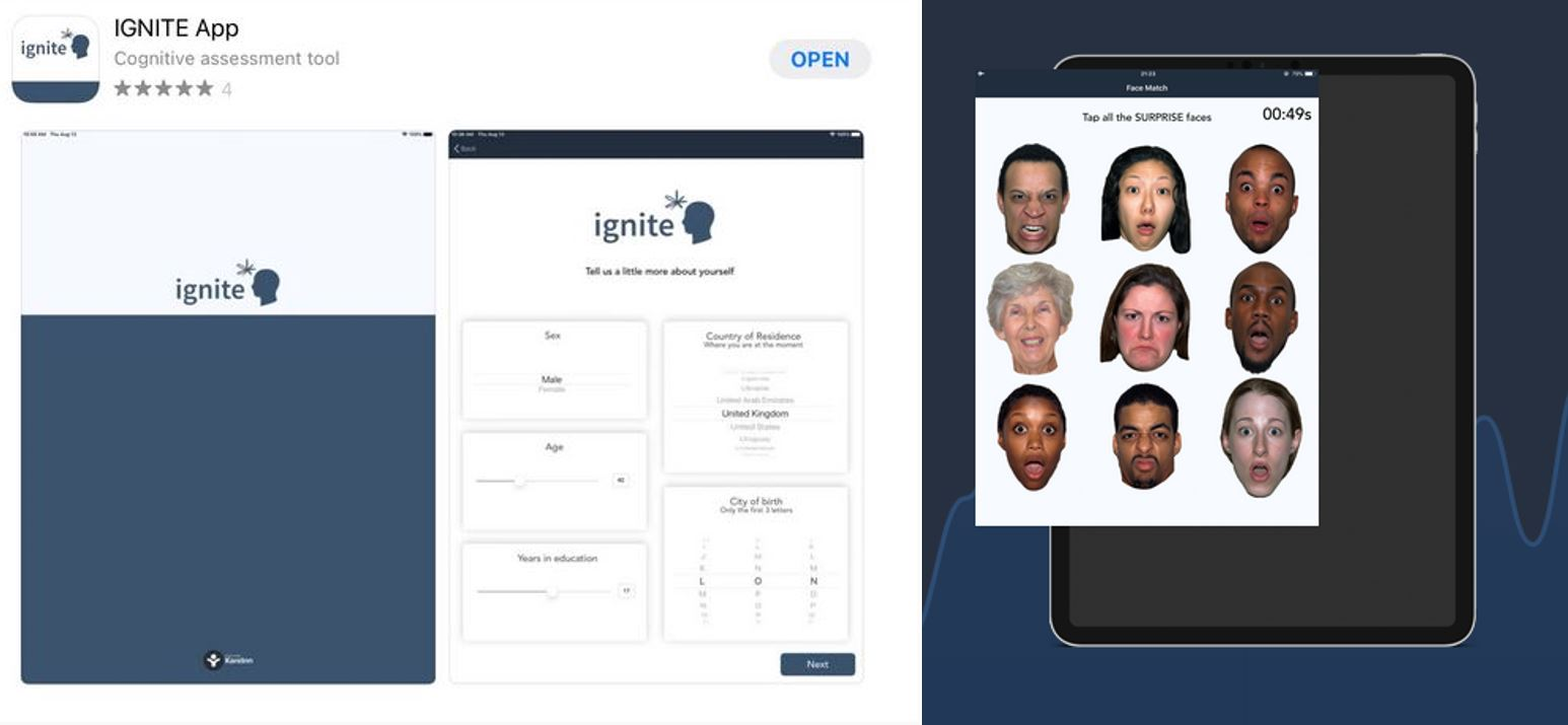 ignite app screenshot