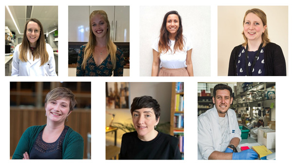 Pictures of early career researchers