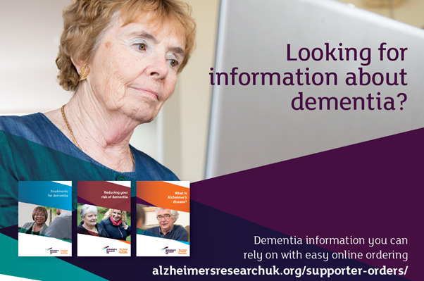 looking for infomation about dementia
