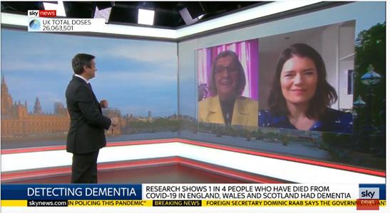 Olive on Sky News
