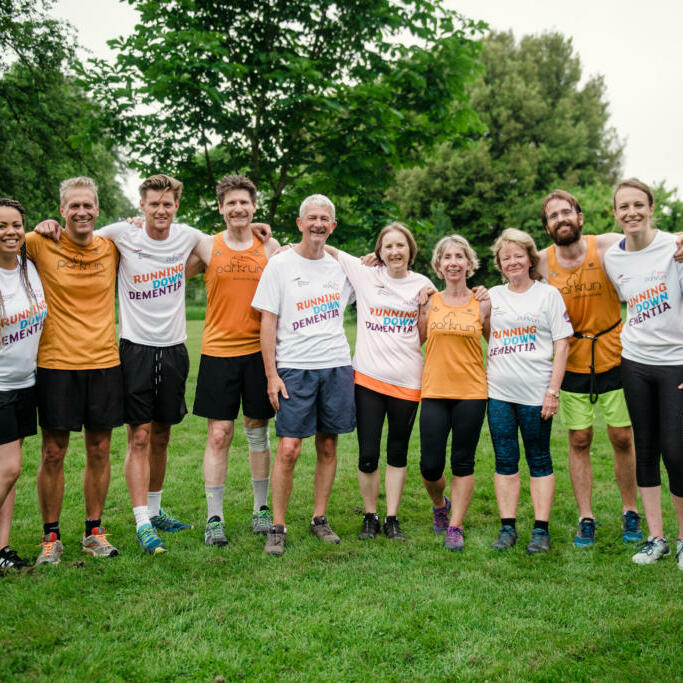 Alzheimer's Research UK - Wimpole parkrun 3
