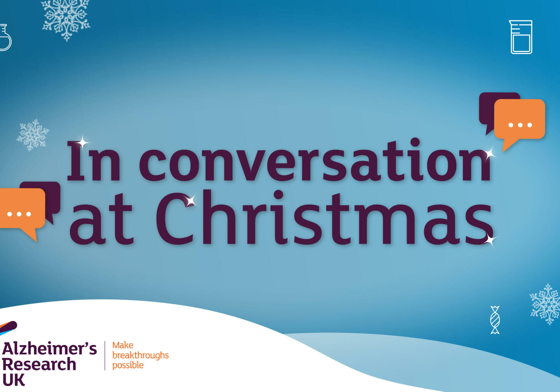 Christmas conversation advert