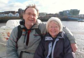 John and Pat Hirst