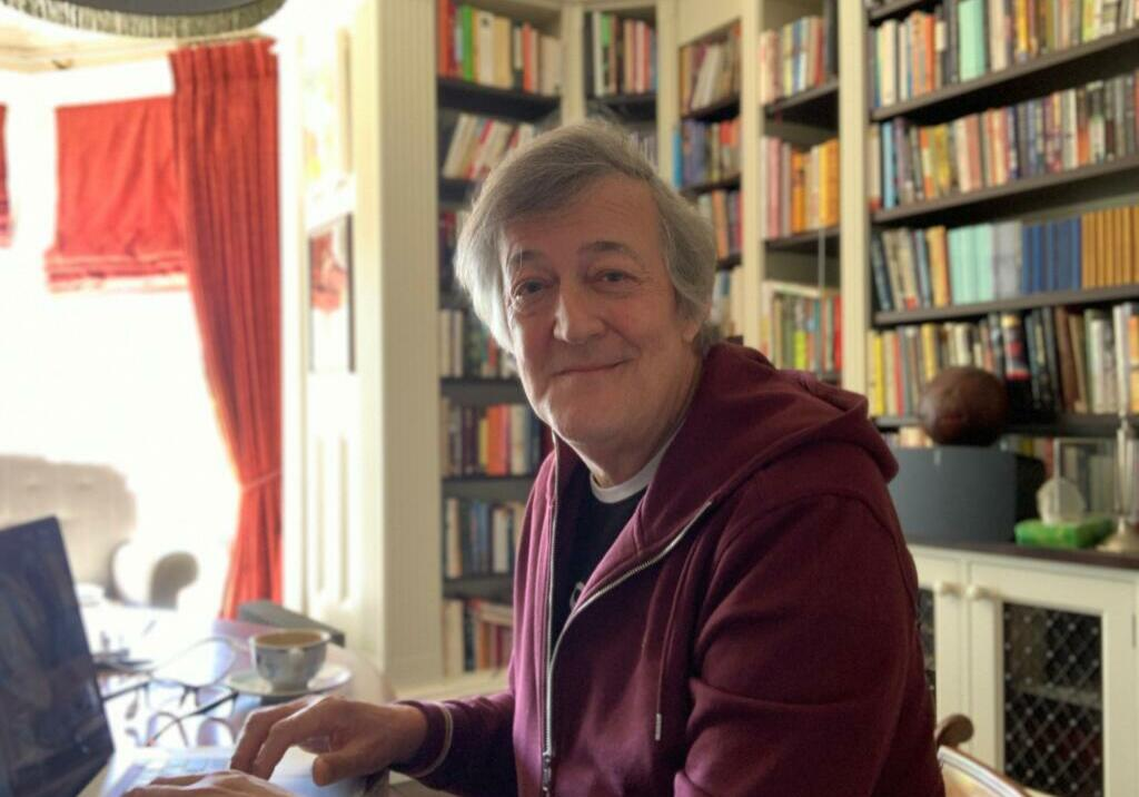 Stephen Fry - new image