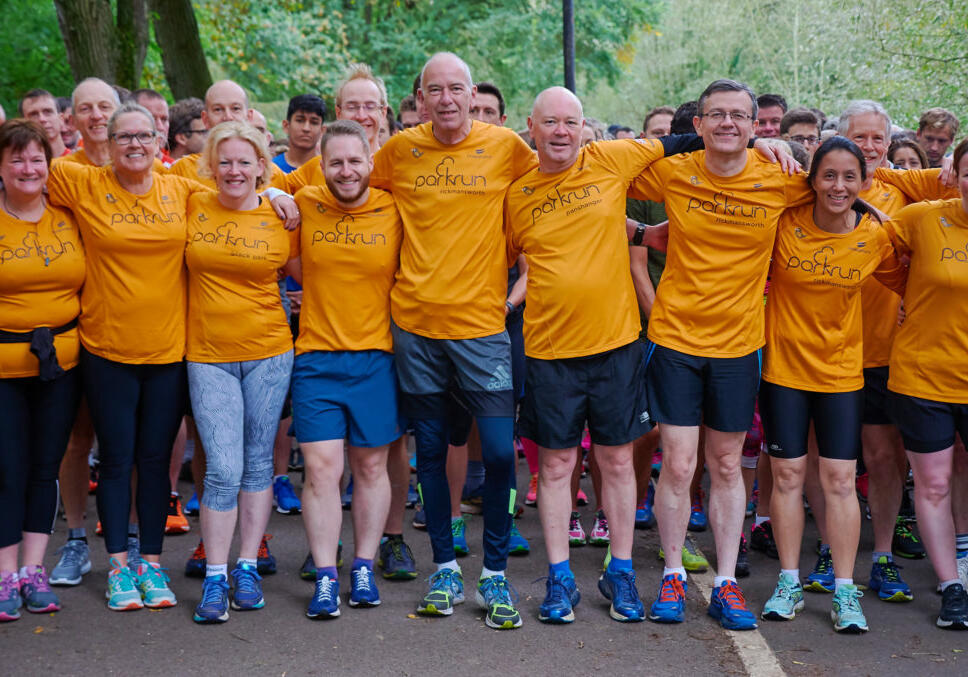 team aruk parkrun supporters