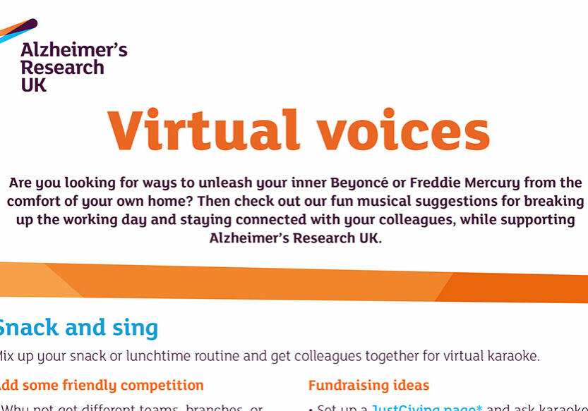 Virtual voice front cover
